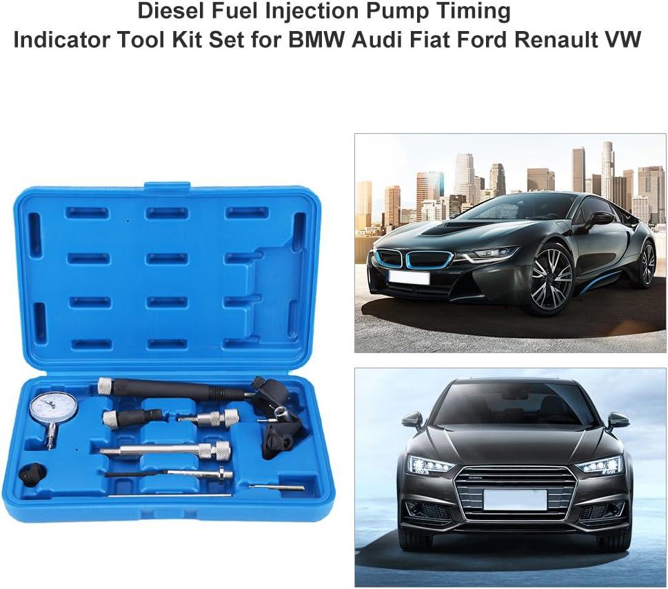 GOTOTOP Lot de 10 indicateurs de synchronisation pour Pompe /à Injection de Carburant Diesel avec /étui de Rangement Bleu