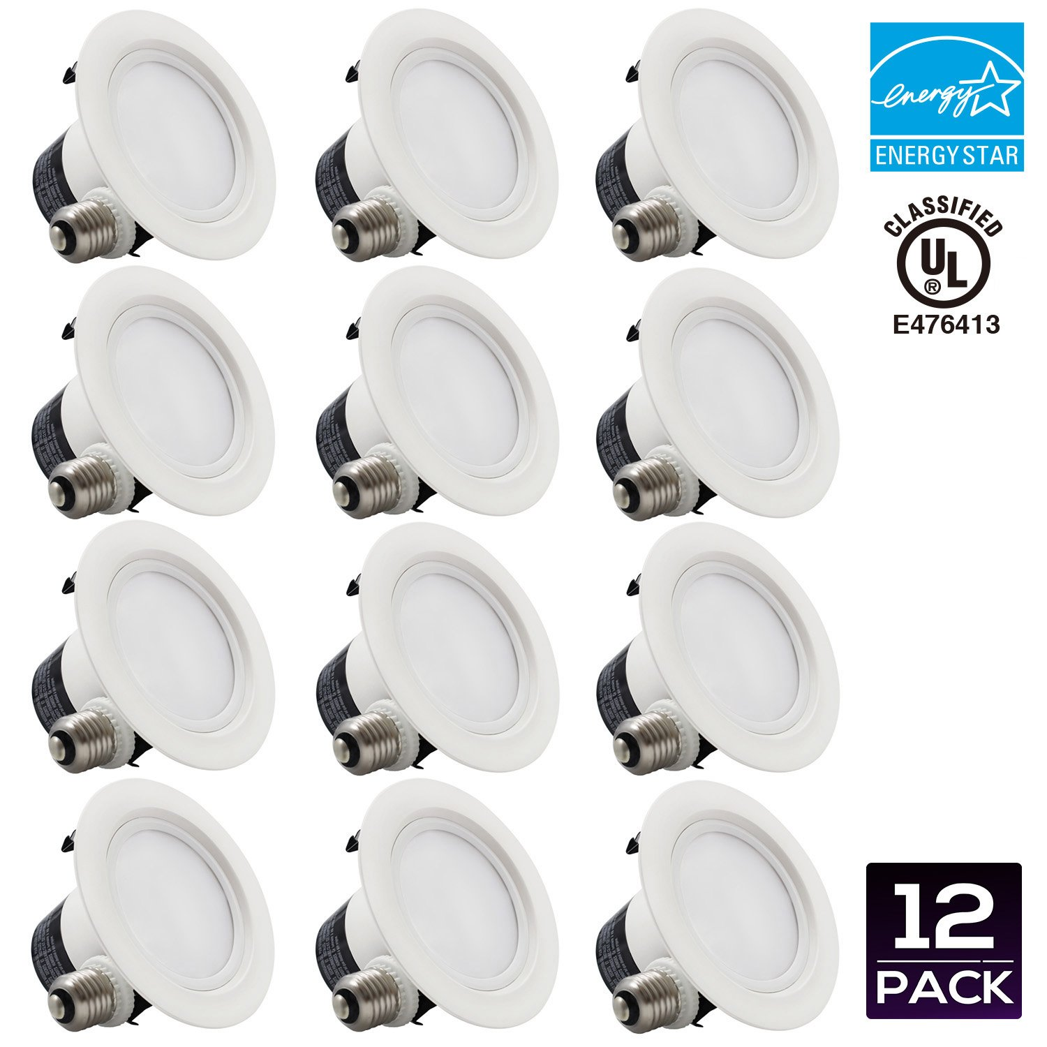 Dimmable Recessed Downlight Equivalent Daylight Image 1