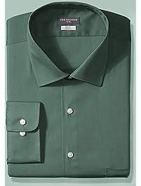 837402d3fc7d92 Van Heusen Men s Tall Dress Shirt Big Fit Flex Solid