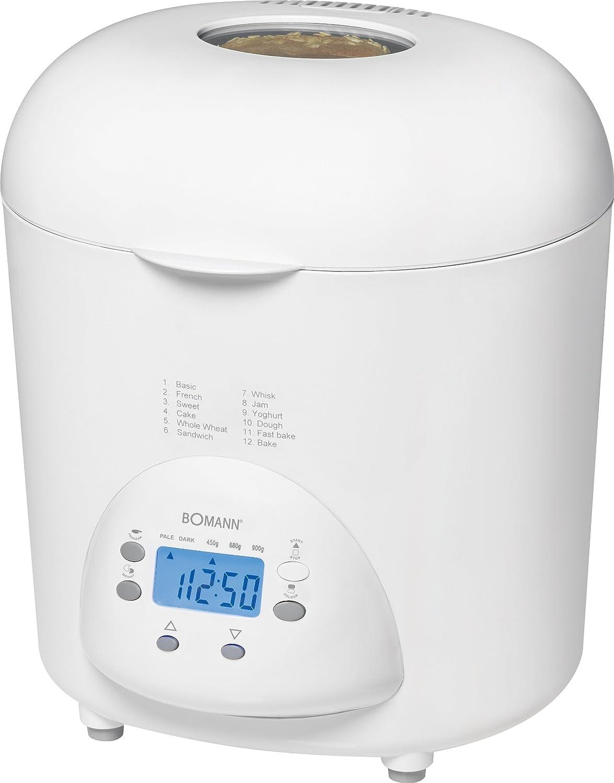 Bomann BBA 5013 CB - Máquina para hacer pan, color blanco ...
