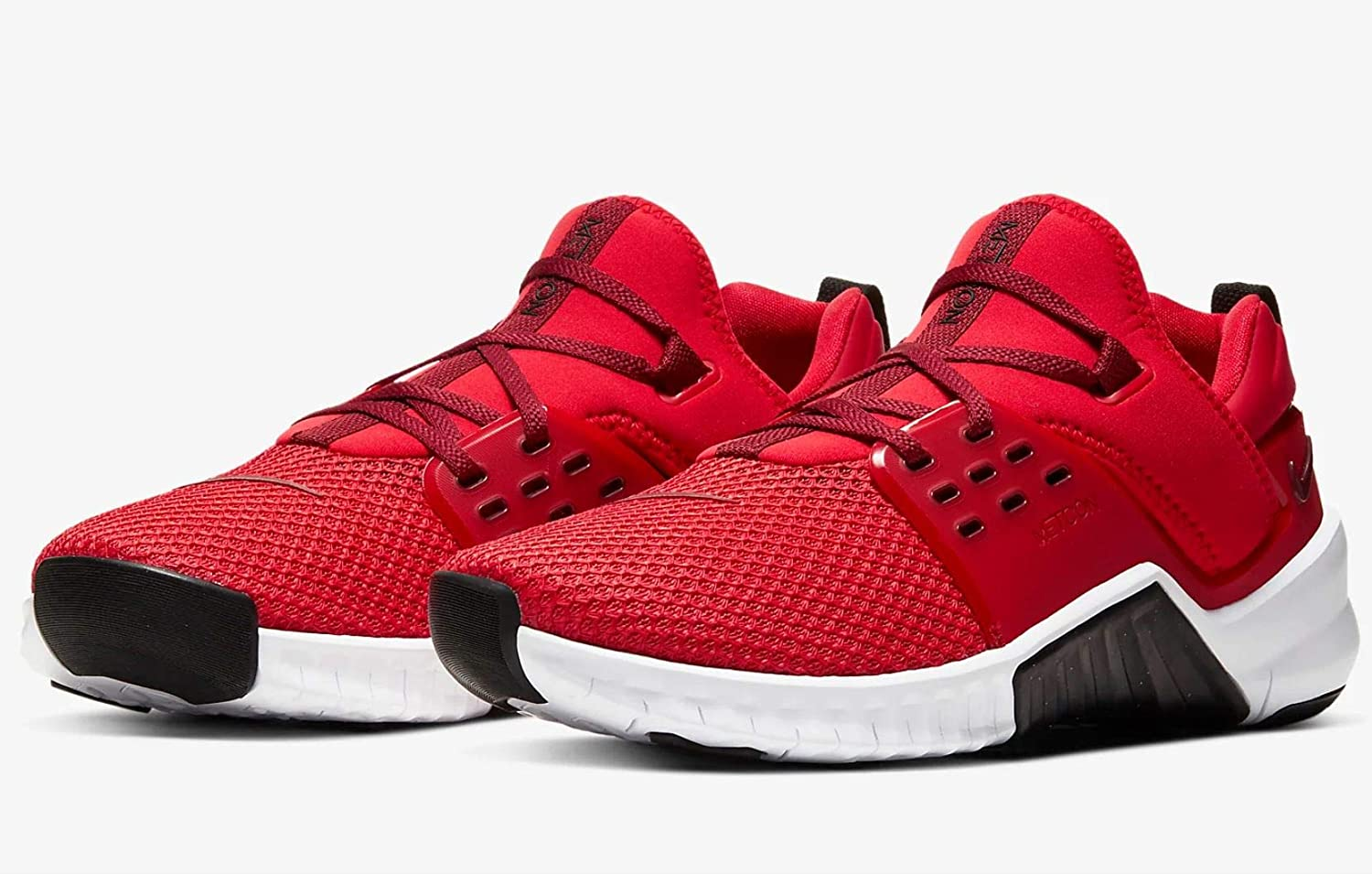 Nike Free Metcon 2, Chaussures de Fitness Homme University Red Team Red Black White