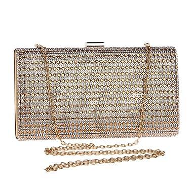 LOUHH Frauen Handtasche Abend Handtasche Glitter Diamante Antike ...