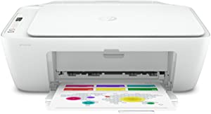 HP DeskJet Series Wireless All-in-One Color Inkjet Printer - Print, Scan, Copy for Home Business Office - Icon LCD Display, Instant Ink Ready, Up to 1200 x 1200 dpi, Bluetooth 4.1, WiFi, USB