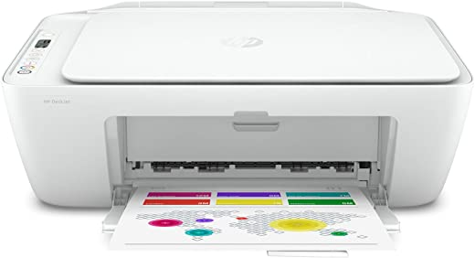 Hp DeskJet 27xx Series Wireless Bluetooth All-in-One Color Inkjet Printer - Instant Ink Ready - Print, Scan, Copy for Home Business Office - Icon LCD Display, Up to 1200 x 1200 dpi