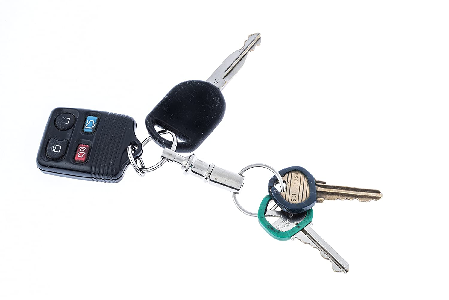 SE 120SKP-B Pull Apart Key Ring Sona Enterprises