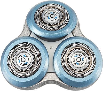 EgBert Cabezal De Afeitar De Repuesto Para Philips Sh90/52 Sh70/52 9000 7000 Afeitadora Afeitadora: Amazon.es: Belleza