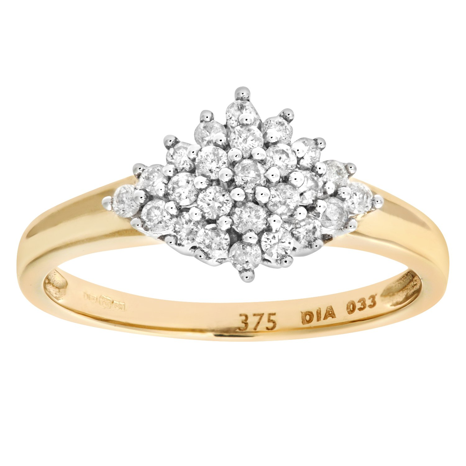 gold ring d number product princessa cluster webstore diamond carat h wedding white rings samuel