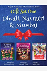 GIFT SET ONE (Diwali, Navratri, Mumbai): Maya & Neel's India Adventure Series (Volume 6) Paperback