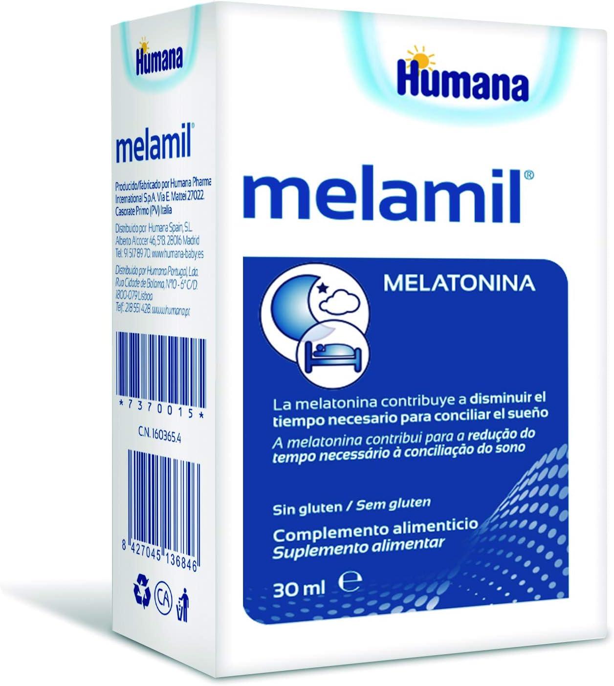 Melamil Suplemento Alimenticio 30 ml: Amazon.es: Salud y cuidado personal