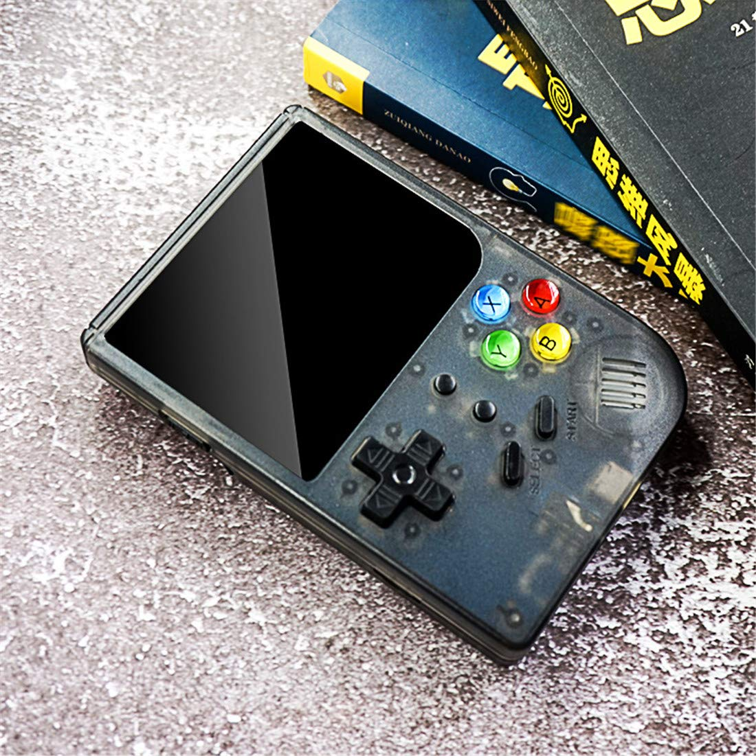3 INCH Video Games Portable Retro FC Console New BittBoy Retro Game Handheld Games Console Player RG 300 16G 3000 Games Best Gift (Black) by Neutral (Image #9)