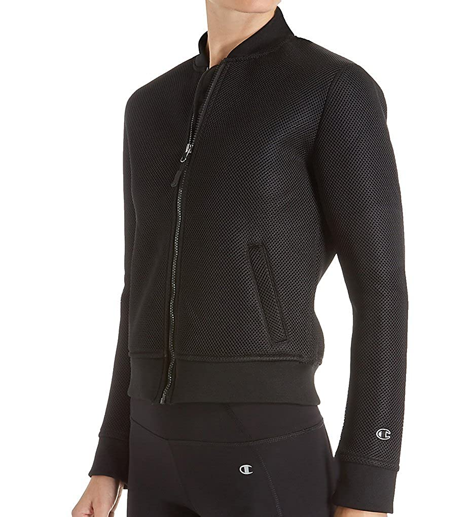 0559ad0c96f7 Champion Women's Fashion Neoprene Bomber Jacket at Amazon Women's Coats Shop