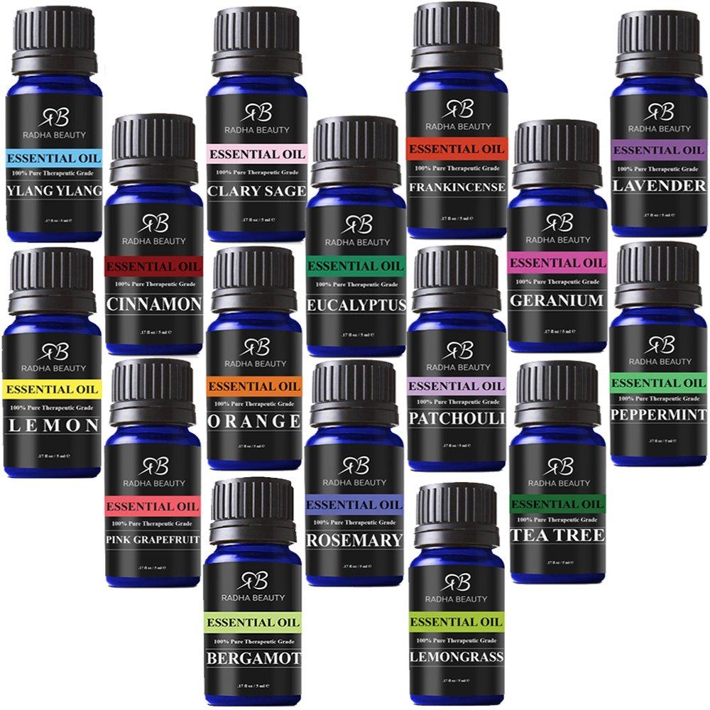 Aromatherapy oil set 100 pure organic therapeutic for 7 jardins premium peppermint 100 pure natural therapeutic grade essential