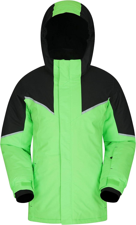 Mountain Warehouse Colardo Kids Waterproof Ski In a Spring new work popularity Jacket for Skii -