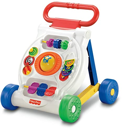 db5dbbdae Amazon.com  Fisher-Price Bright Beginnings Activity Walker  Toys   Games
