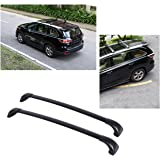 Beamtop Roof Rack Cross Bars for Toyota Highlander LE 2014 2015 2016 2017 Luggage Carrier Mounted On Rooftop With Fixed Points, 2 Set