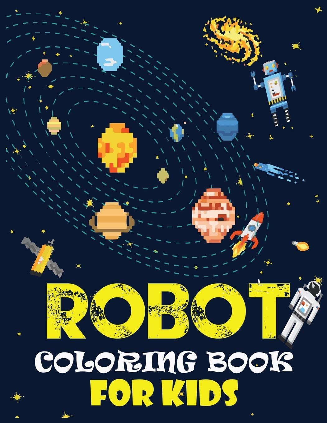 - Amazon.com: Robot Coloring Book For Kids: Easy And Cheap Robot
