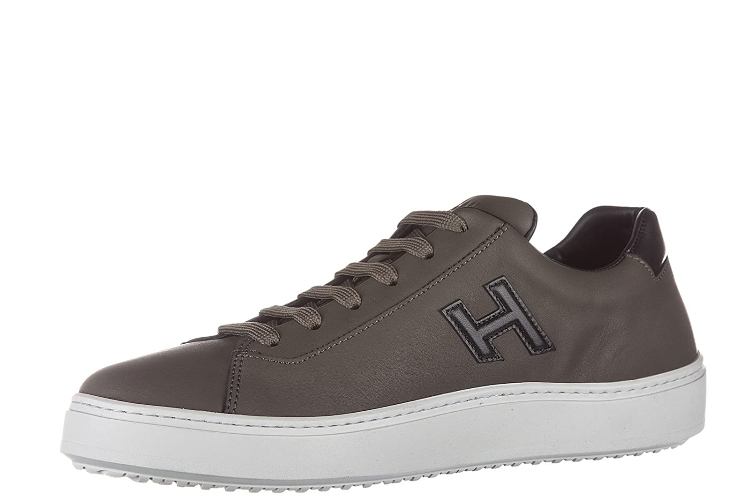 Chaussures baskets sneakers homme en cuir h302 urban cupsole sporty style Hogan wUyoy