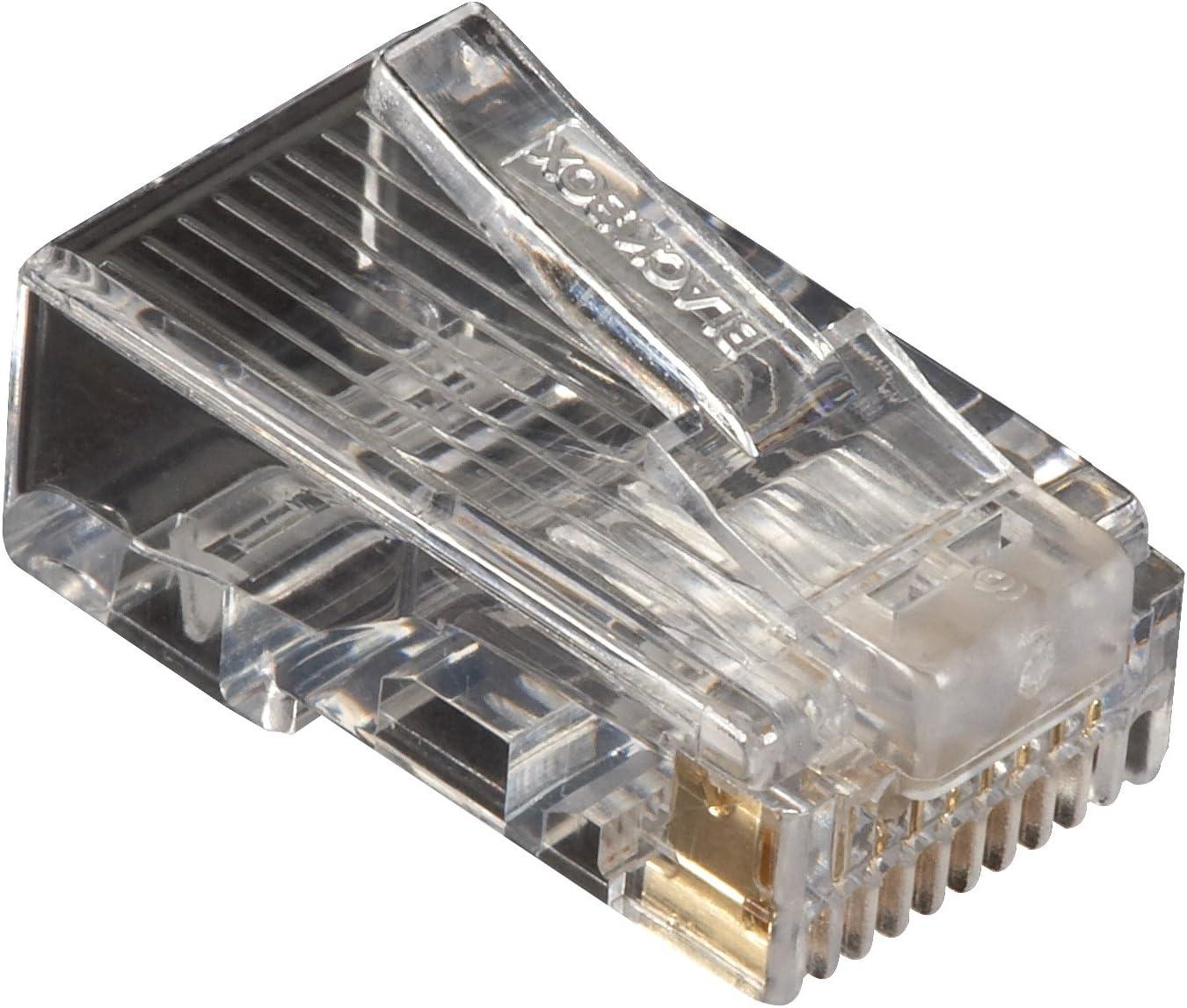 Black Box CAT5e Unshielded Modular Plug 100-Pack