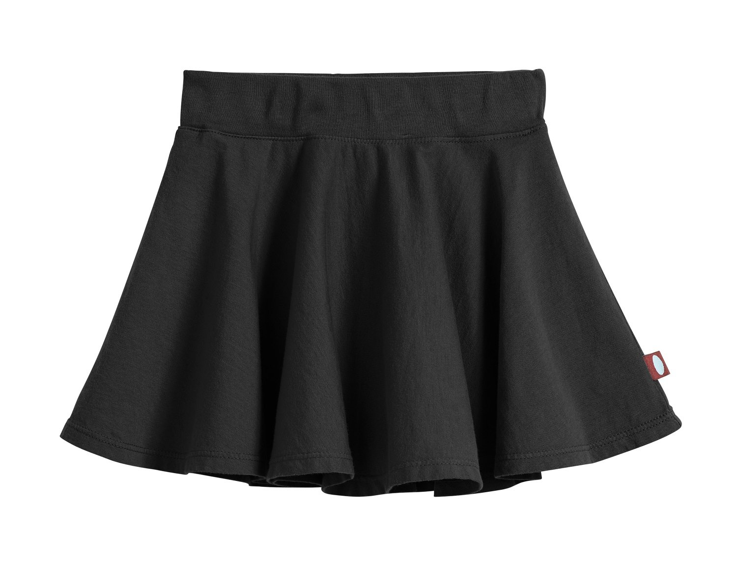 City Threads Little Girls' Cotton Twirly Skirt Perfect for Sensitive Skin/SPD/Sensory Friendly for School Or Play Fall/Spring, Black, Size 4T