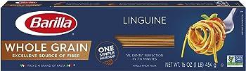 20-Pack Barilla Whole Grain Pasta, Linguine, 16 oz