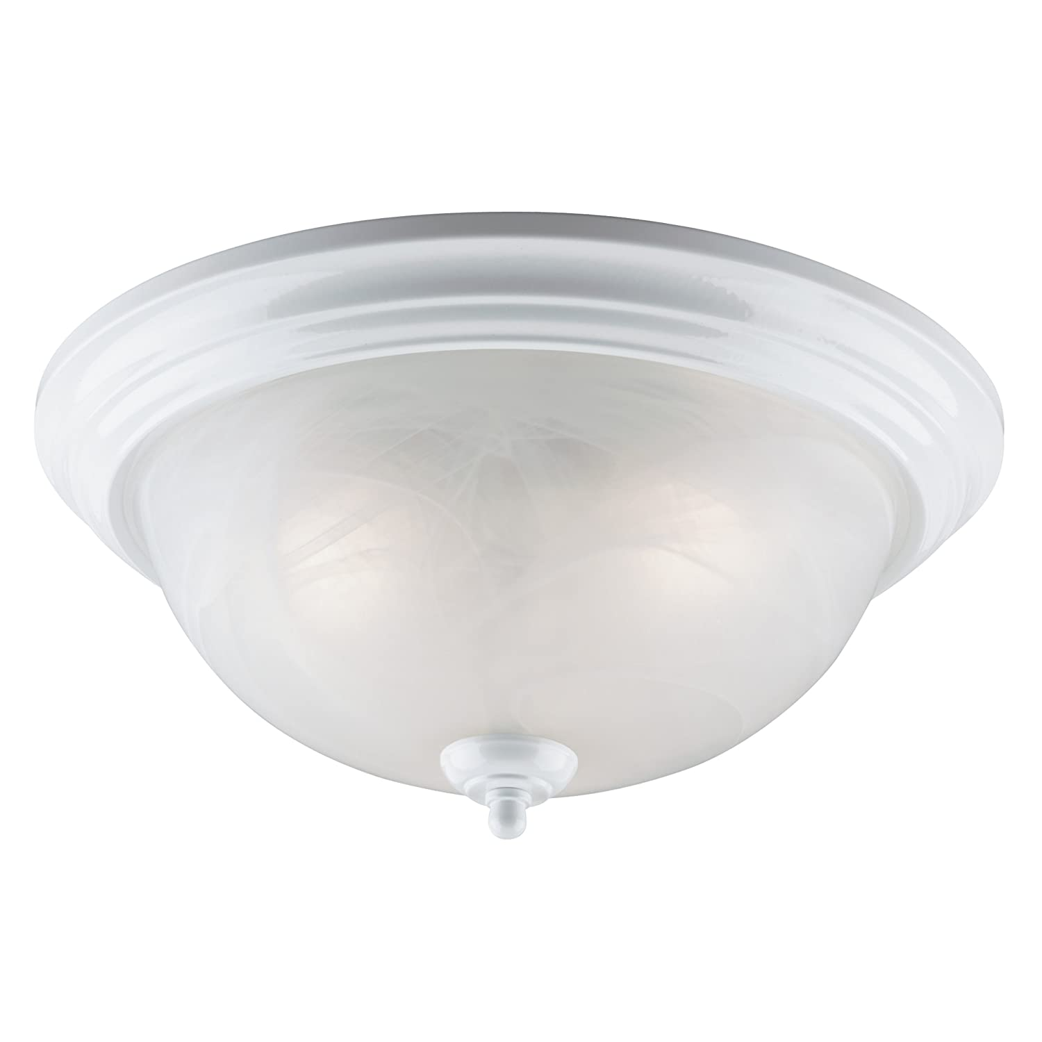 Westinghouse lighting corp 3 light ceiling fixture white