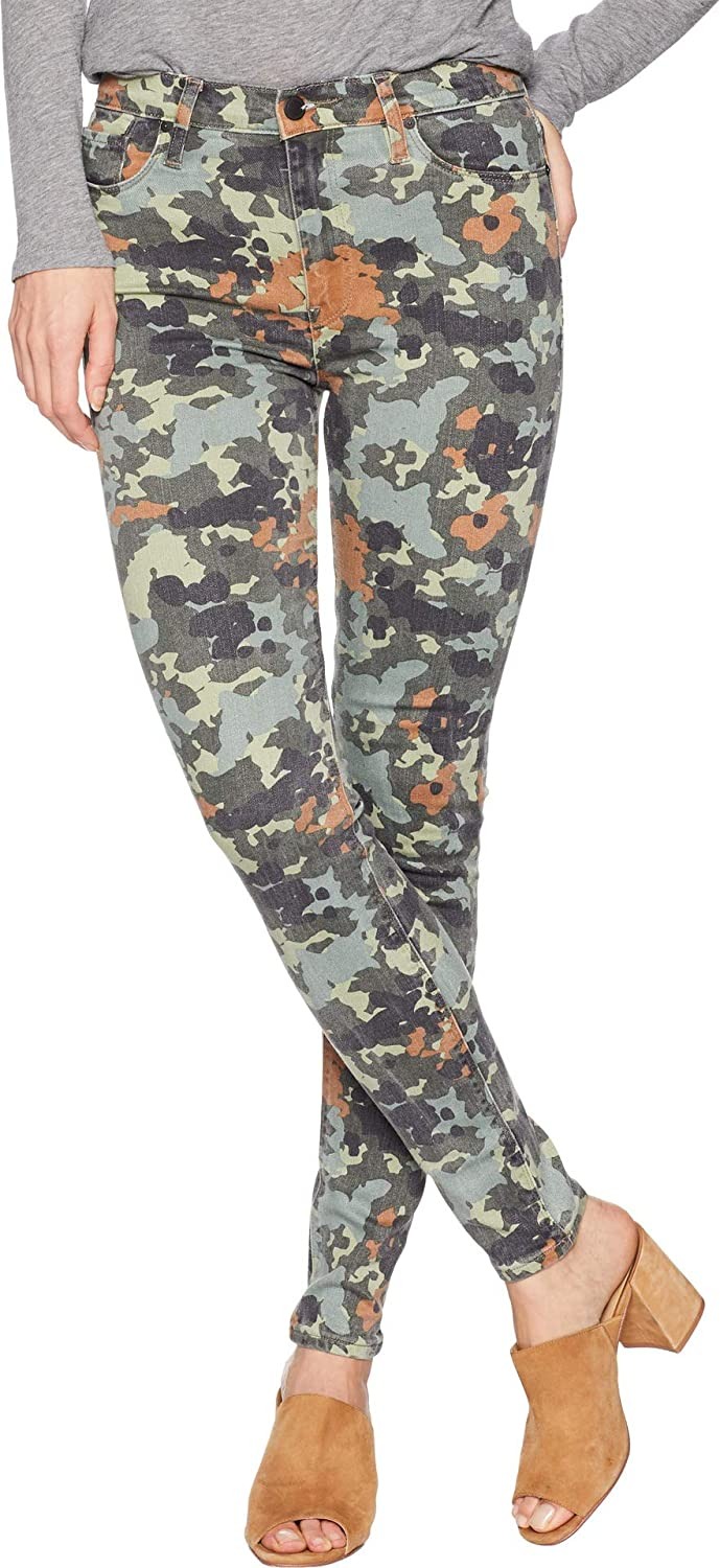 f0a91e15f3f Hudson Jeans Women's Barbara HIGH Waist Super Skinny Ankle 5 Pocket Jean, Germany  camo, 32 at Amazon Women's Jeans store