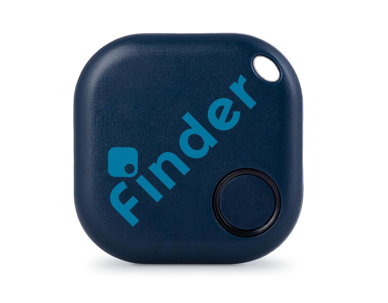 musegear® Schlüsselfinder mit Bluetooth App I Keyfinder laut für Handy in dunkelblau I GPS Ortung/Kopplung I Schlüssel Finden 3WU-XJS-8BN