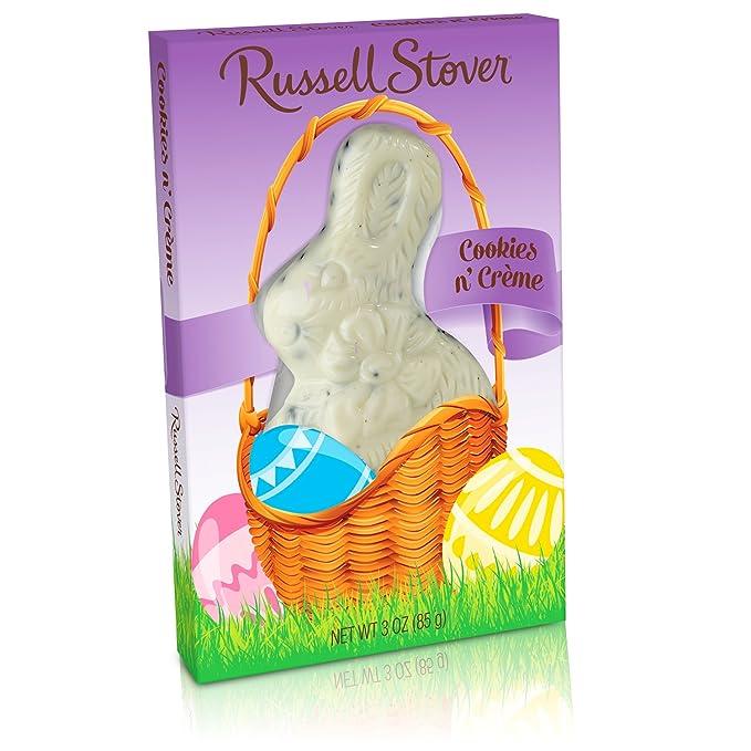 Russell Stover Chocolate, diseño de conejo: Amazon.com ...