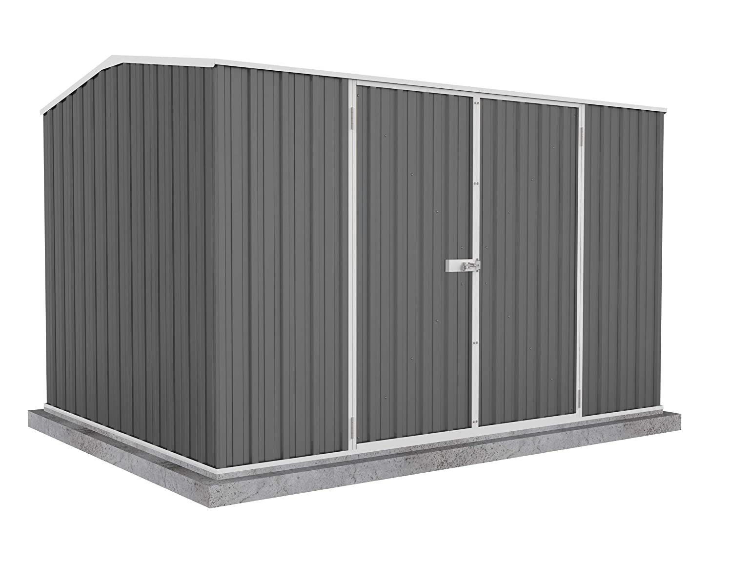 ABSCO 30232GK Premier Storage Shed, 10 x7 , Woodland Grey