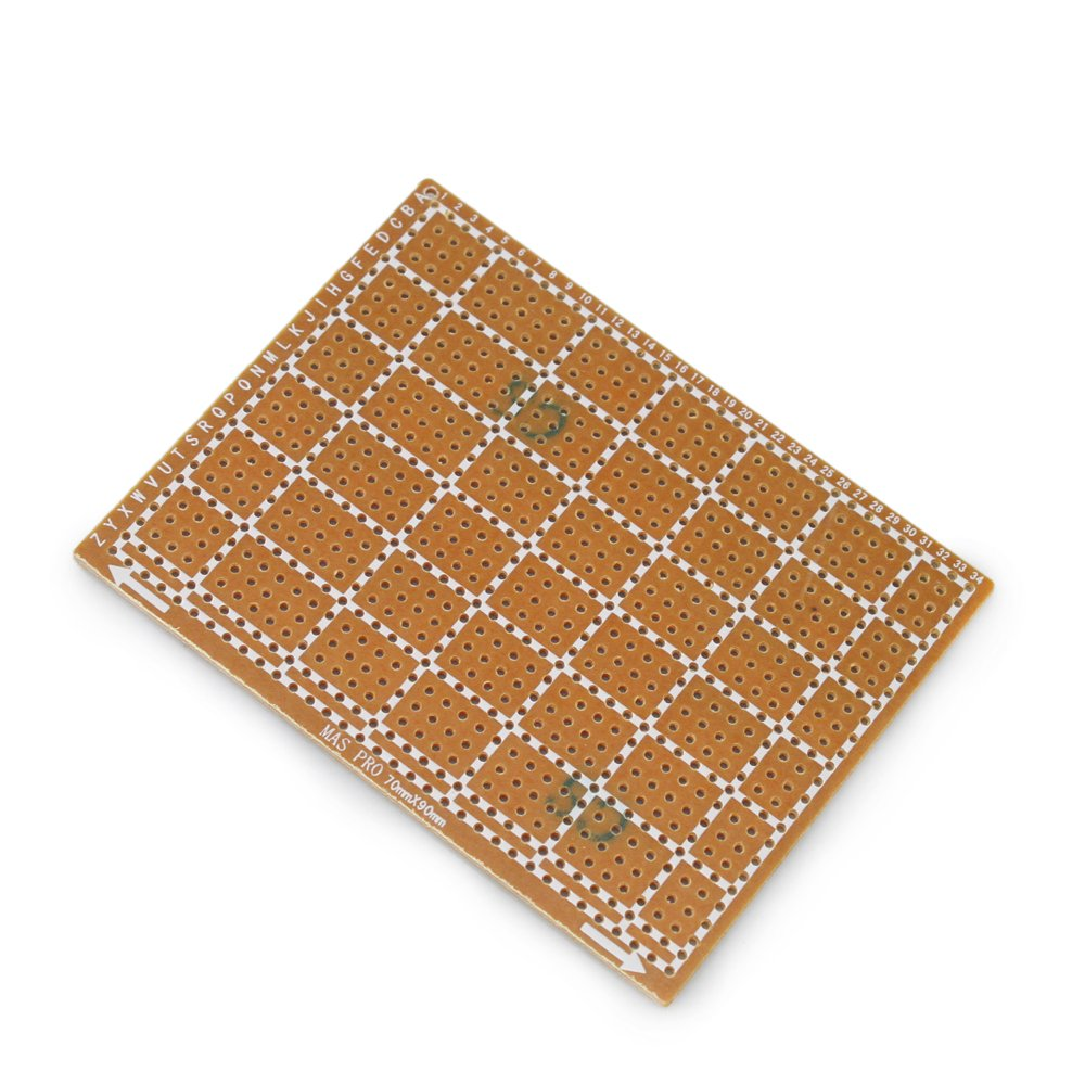 Which Allows You To Design Your Electronic Circuits On Stripboards 10pcs 70mm X 90mm Copper Strip Prototype Stripboard Pcb Printed Circuit Board For Welding Soldering Diy Home Improvement