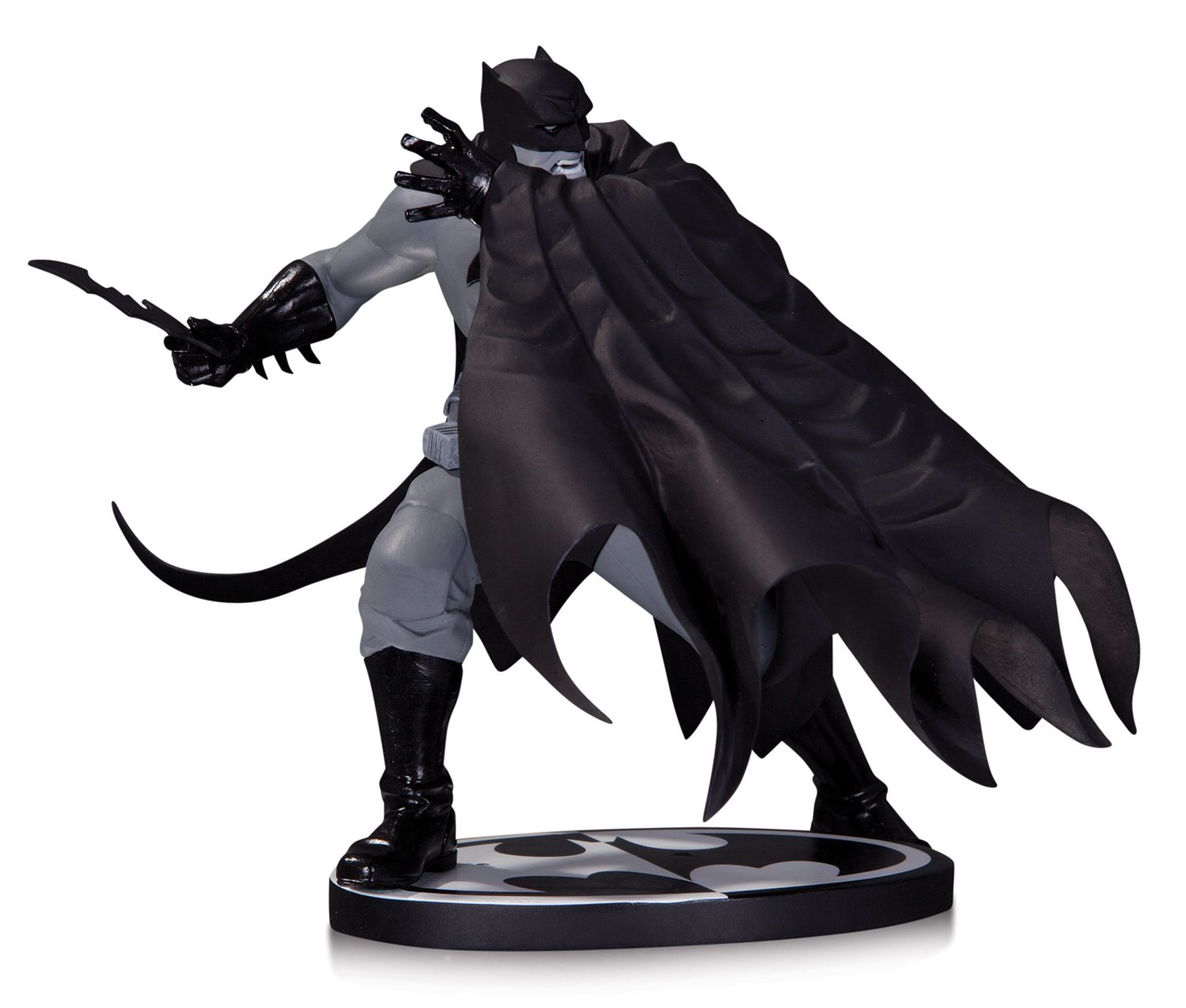 Amazon DC Collectibles Batman Black And White Figure By Dave Johnson Toys Games