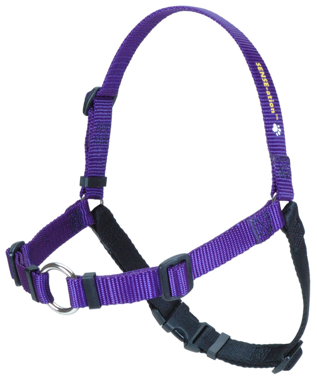 SENSE-ation No-Pull Dog Harness - Purple Medium