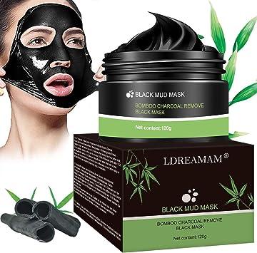 Black Mask Peel Off,Blackhead Remover Masque,Contrôle de l'huile,Supprime Points Noirs/Acné,Supprime Points Noirs/Acné,Pour Une Peau Pure Lisse
