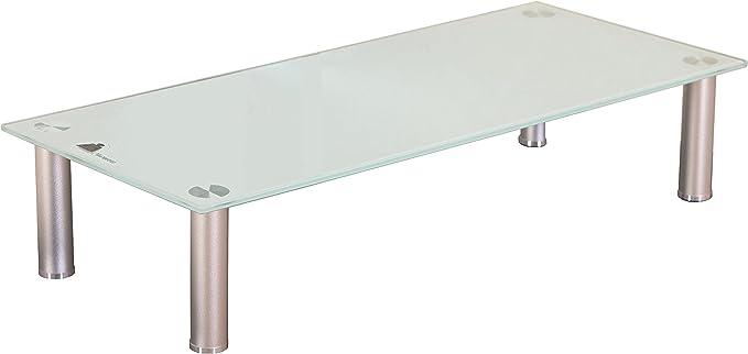 TV accesorio de colour blanco y 100 cm de televisor de elevador de estante de monitor de podio de plasma LCD de colour blanco: Amazon.es: Hogar
