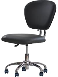 pu leather midback mesh task chair office desk task chair h20