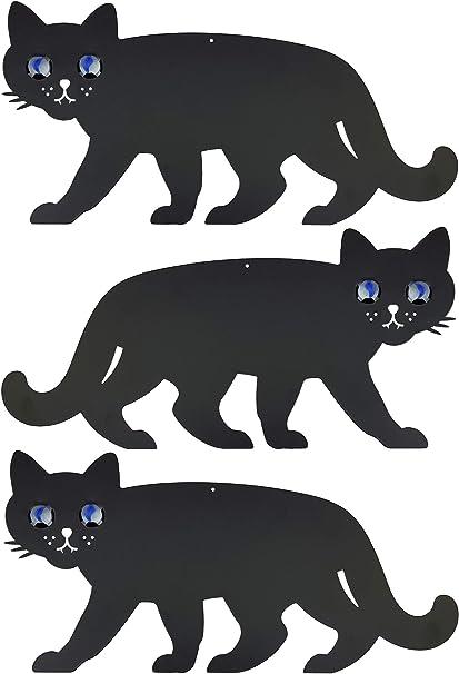 Medipaq - Repelente para Gatos con Ojos de mármol Reflectantes: Amazon.es: Jardín