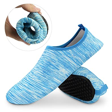 Unisex Water Skin Shoes Aqua Socks Barefoot Shoes For Beach Pool
