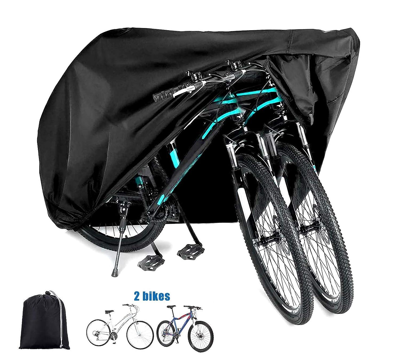 Waterproof Bicycle Tricycle Bike Cover Outdoor Rain Dust Protector+Storage Bag