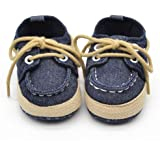 Voberry® Newborn Baby Boys' Premium Soft Sole Infant Prewalker Toddler Sneaker Shoes