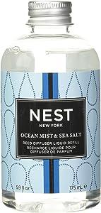NEST Fragrances Ocean Mist & Sea Salt Reed Diffuser Liquid Refill