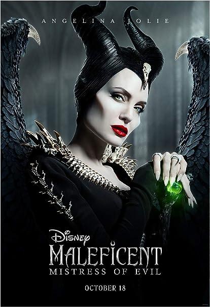"Maleficent Mistress of Evil Movie Poster Light vs Dark 24/"" x 36/"" or  27/""x 40/"""