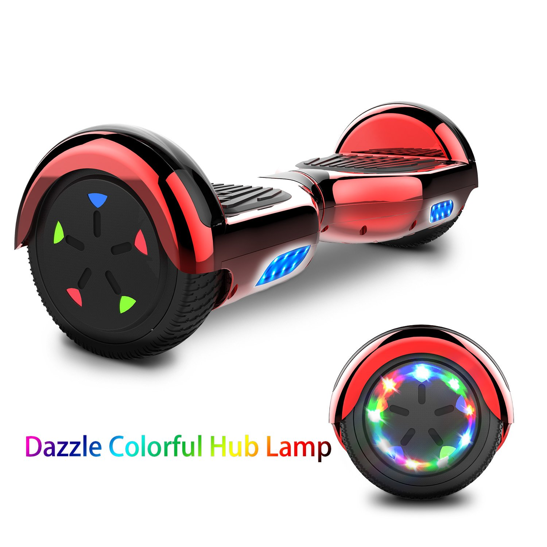 MARKBOARD Hover Scooter Board Patinete Eléctrico Scooter Monopatín Auto- Equilibrio con Bluetooth LED Indicador