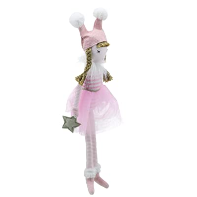Wilberry - Dolls - Small Pink Doll Soft Toy: Juguetes y juegos
