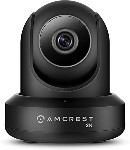 Amcrest UltraHD 2K WiFi Video Security IP Camera w Pan Tilt