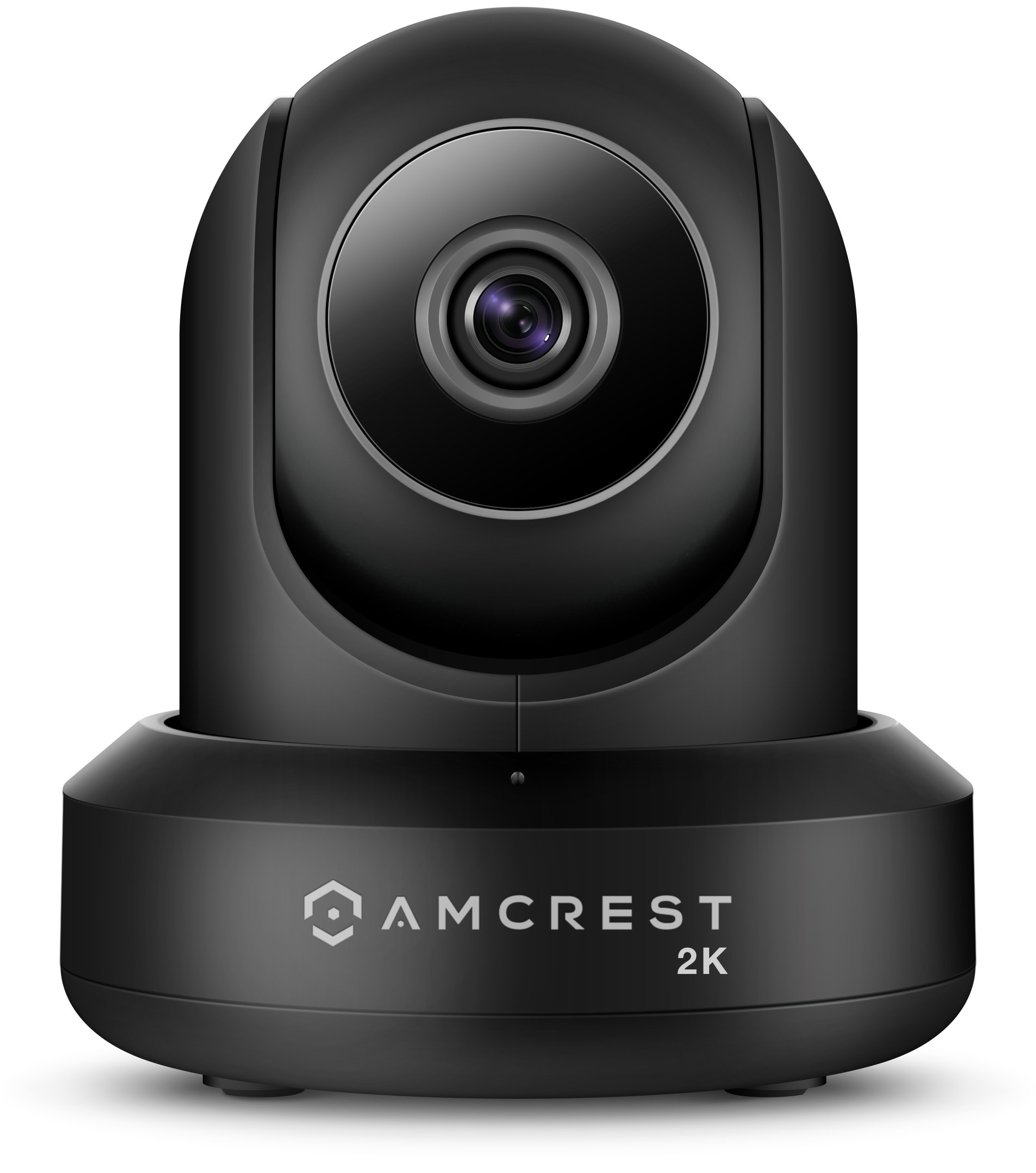 Amcrest UltraHD 2K WiFi Video Security IP Camera w/Pan/Tilt, Dual Band 5ghz/2.4ghz, Two-Way Audio, 3-Megapixel @ 20FPS, Wide 90° Viewing Angle & Night Vision IP3M-941B (Black) (Certified Refurbished)