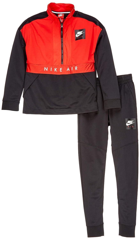 Nike Air Zapatillas de Tenis, Niños, Negro/Blanco, XL: Amazon.es ...