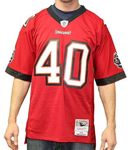 60380077d33 Amazon.com   Mitchell   Ness Mike Alstott Tampa Bay Buccaneers 2002  Throwback Premier Jersey   Sports   Outdoors