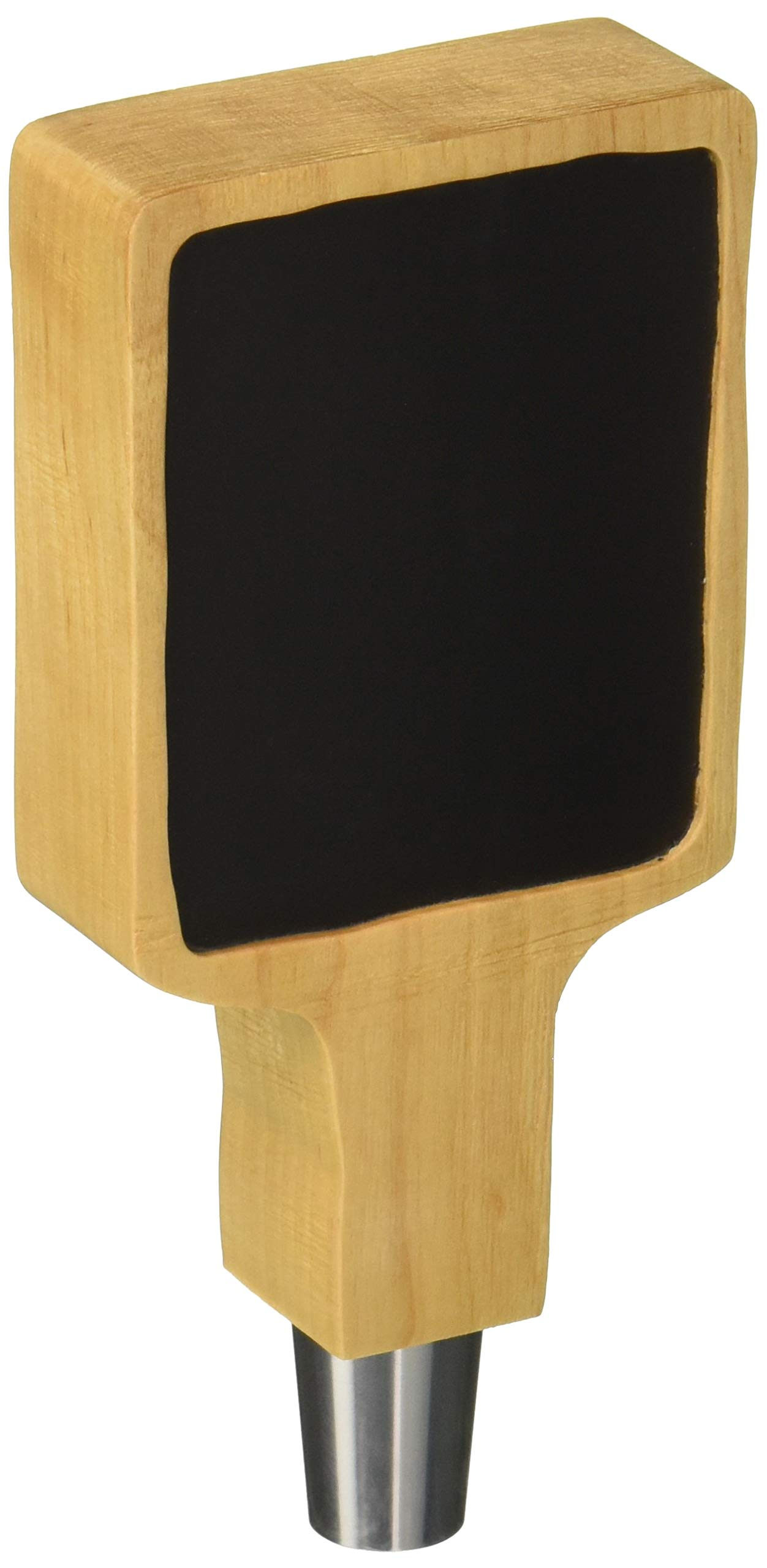 Rustic Carved Tap Handle with Chalkboard Surface - Short 6'' - Tap BoardsTM