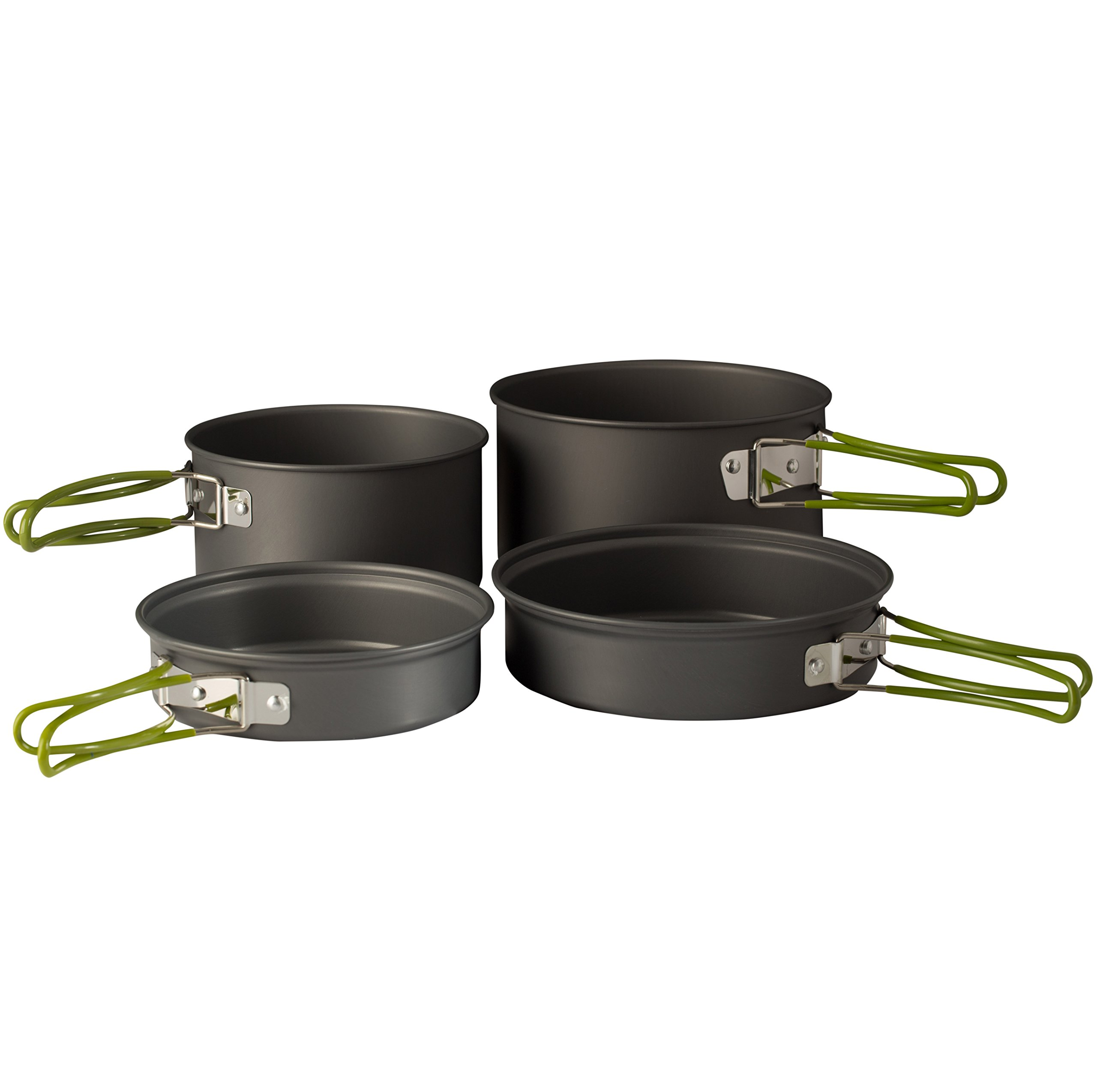 Wealers-Camping-Cookware-11-Piece-Outdoor-Mess-Kit-Backpacking-Trailblazing-add miniatuur 3