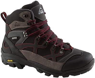 dc2dc617eb53c9 McKinley hommes Chaussures de randonnée Magma Aqx Noir/Anthracite/Rouge:  Amazon.fr: Chaussures et Sacs